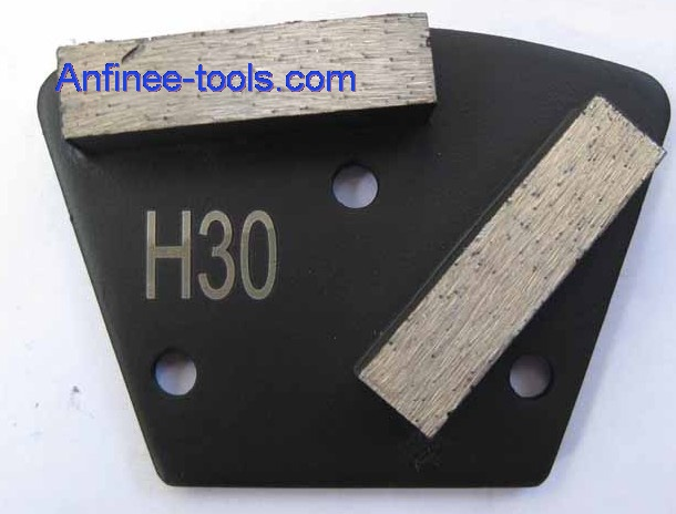 Two segment bars trapezoid Plates