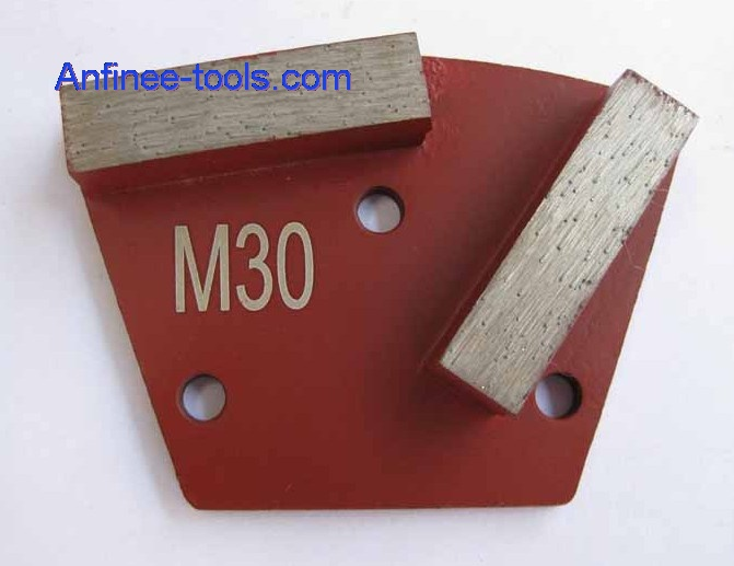 Two segment bars trapezoid Plates - Medium Bond