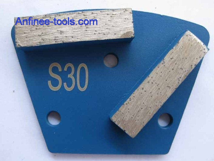 Two segment bars trapezoid Plates - Soft Bond