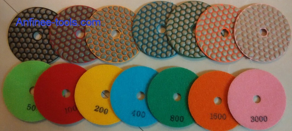 New Dry polishing pad   AFDP7S-N