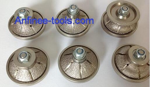 Vacuum Brazed Hand Diamond Profiling Wheel