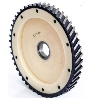 D400mm 16 inch with segment 40mm silent diamond milling wheels for granite and marble