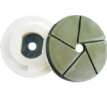 Bullnose Edge Polishing Pad with Snail Lock